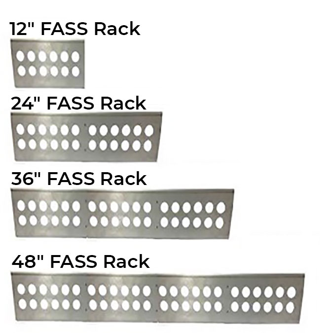 Resolve One FASS Rack System - Conduit Support System — 12, 24, 36, 48 Ports