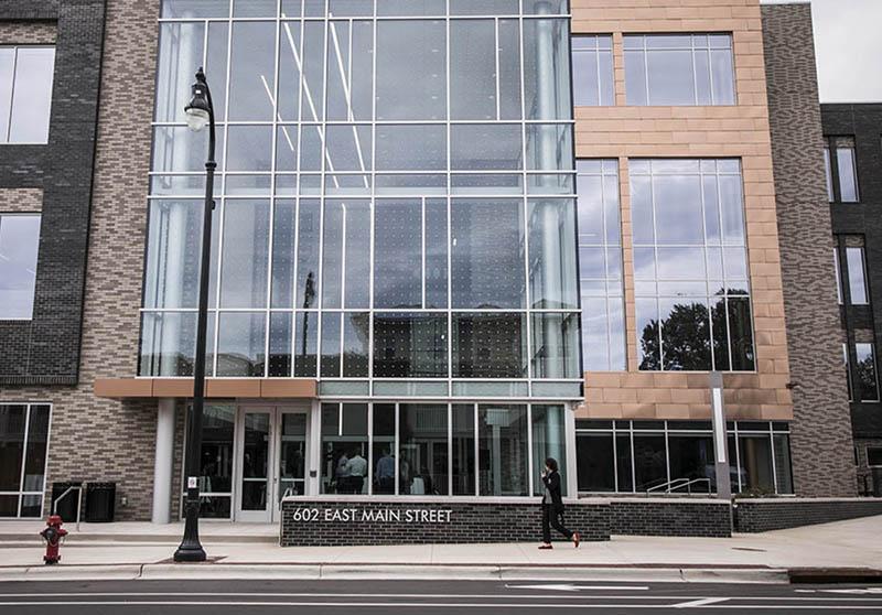 Durham Police Department headquarters