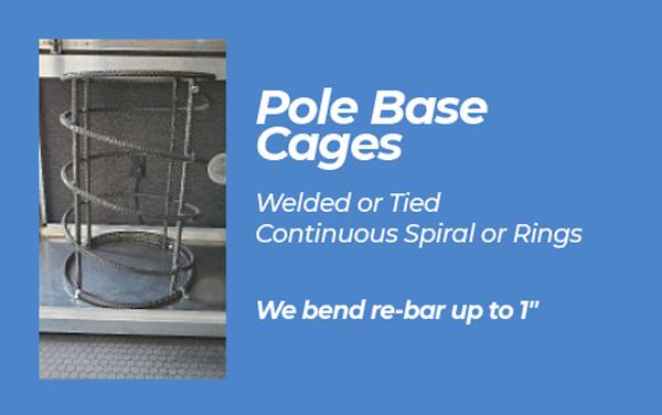 Pole Base Cages