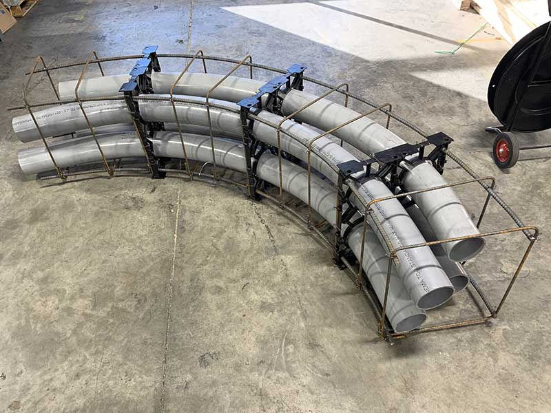 Resolve One Curved Duct Bank