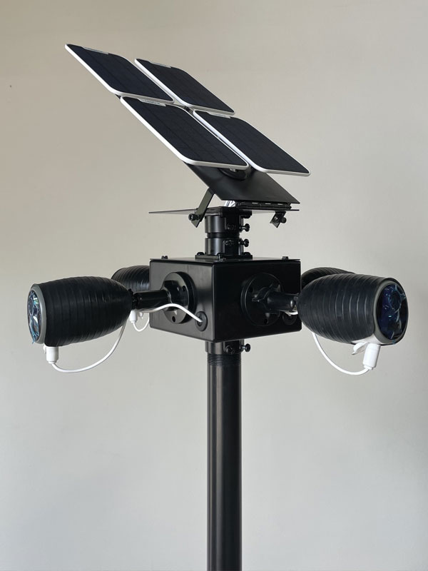 Job site security camera